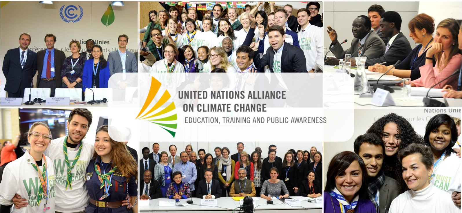 Banner UN Alliance on Climate Change