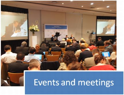 Events and meetings