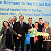 Handing-over of the key to the UN Climate Change Secretariat