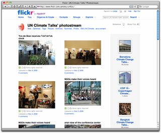 UNFCCC Flickr - UN Climate talks