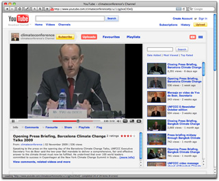UNFCCC YouTube - climateconference