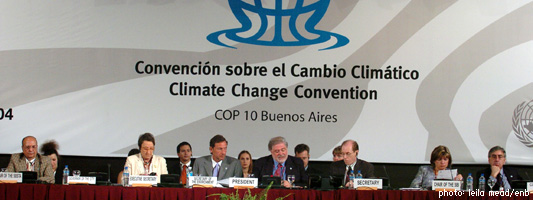 Buenos Aires Climate Change Conference - December 2004