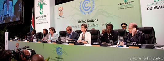 Зустріч під час міжнародної конференції ООН зі зміни клімату у Дурбані