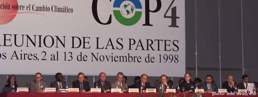 Buenos Aires Climate Change Conference - November 1998