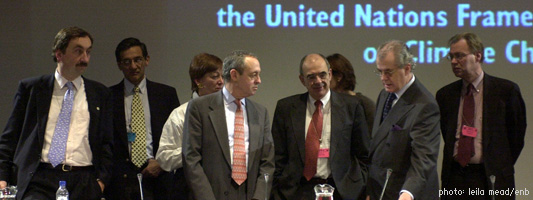 The Hague Climate Change Conference - November 2000