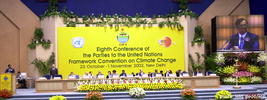 New Dehli Climate Change Conference - October 2002