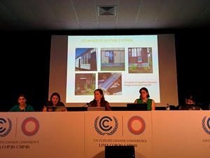 Panel discussion on the role of women in securing a clean energy future in Latin America and the Caucuses