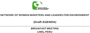 the Network of Women Ministers and Leaders of the Environment