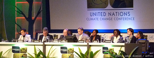 Panama Climate Change Conference - October 2011