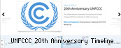 UNFCCC 20 Years Anniversary Timeline