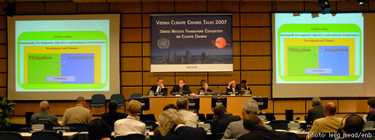 Vienna Climate Change Conference - August 2007