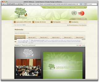 Webcast from COP 16 / CMP 6
