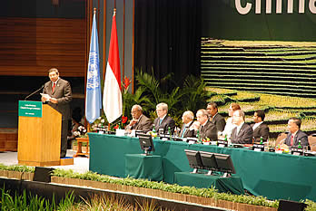 President of the Republic of Indonesia, Mr. Susilo Bambang Yudhoyono, speaking at the opening of the High-Level segment.