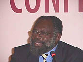 Ogunlade R., Davidson, Co-Chairman of IPCC Working Group III and Dean of the Engineering Faculty of the University of Sierra Leone