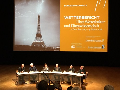 The opening press conference of the exhibition in Bonn