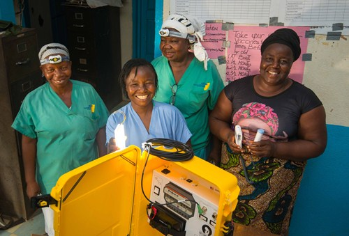 sustainable energy safe childbirth