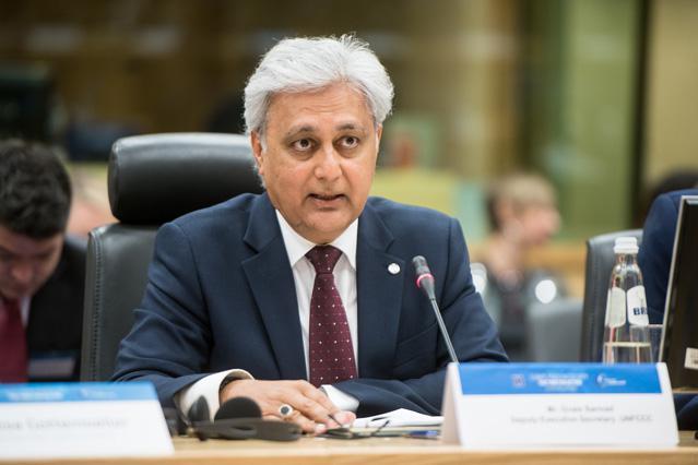 Ovais Sarmad, UN Climate Change Deputy Executive Secretary