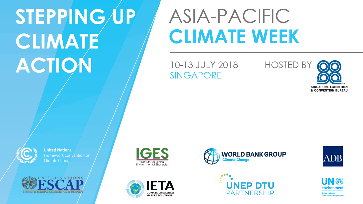 Asia Pacific Climate Week 2018