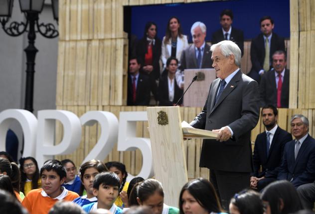 Chilian President Sebastian Pinera