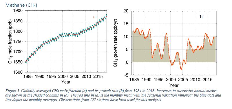 WMO methane graph