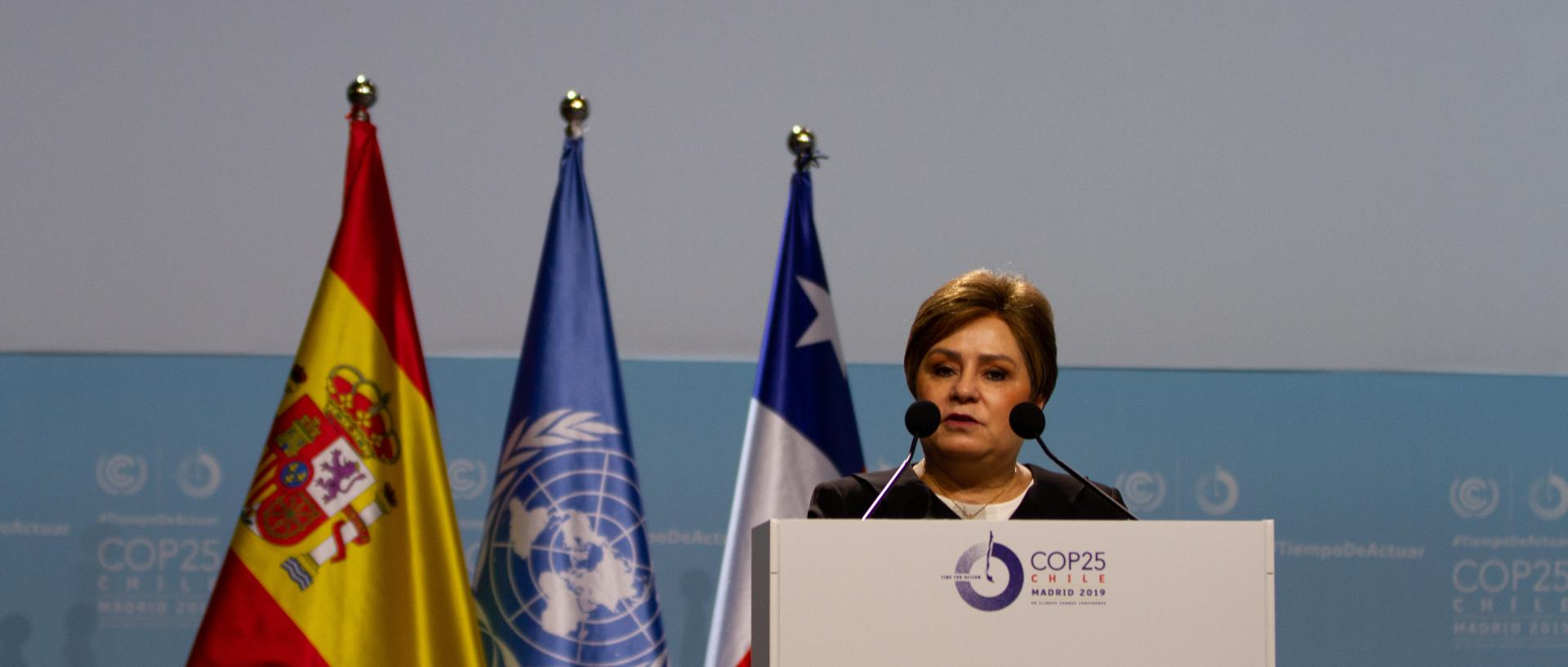Patricia Espinosa at opening of COP25 high level segment