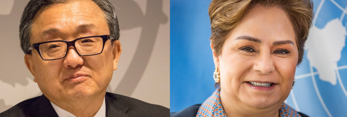 """Nations Must Raise Ambition"" - Liu Zhenmin and Patricia Espinosa"