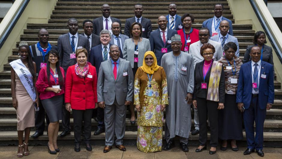 High-level session of 2018 Africa Climate Week in Nairobi, Kenya