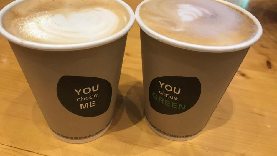 Coffee cups at COP24