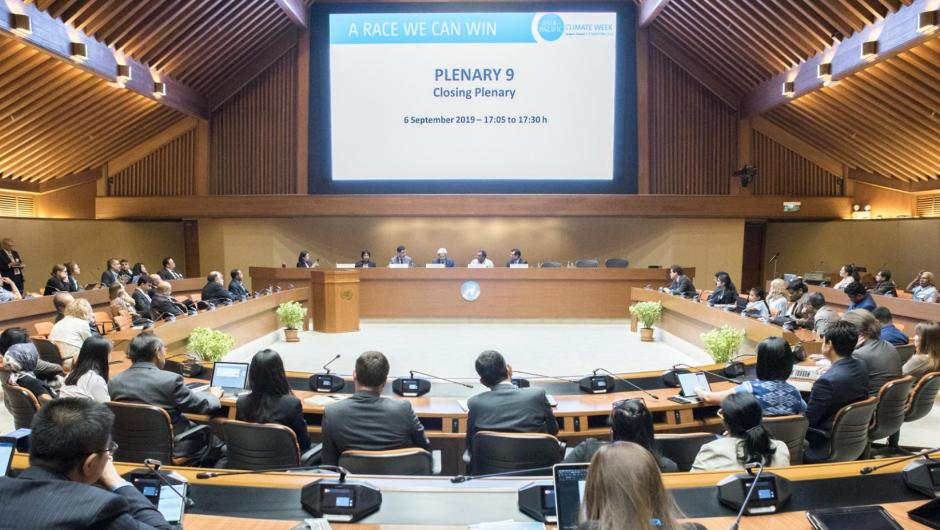 Asia-Pacific Climate Week Closing Plenary