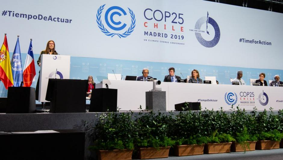 Plenary opening high level segment COP25