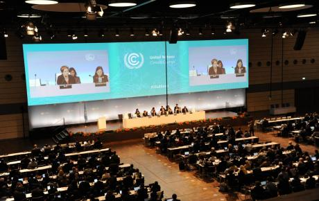UN Climate Change Conference plennary meeting